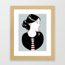 To the Lighthouse - Virginia Woolf Framed Art Print