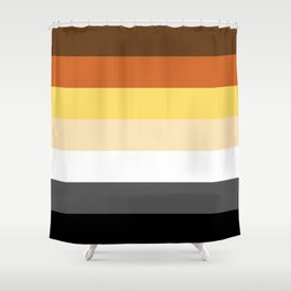 Bear Flag Shower Curtain