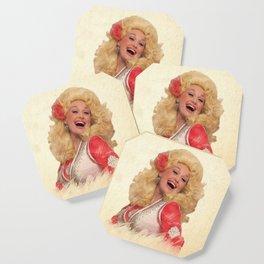 Dolly Parton - Watercolor Coaster