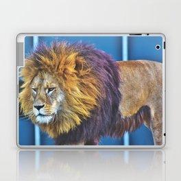 Lion With Purple Mane Laptop & iPad Skin