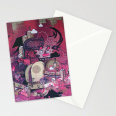 Dont Worry - Party Hard (Pink) Close Up Stationery Cards