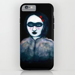 Carnival Lady iPhone Case