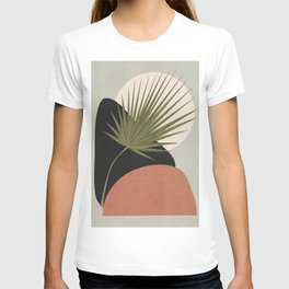 Tropical Leaf- Abstract Art 5 T-shirt