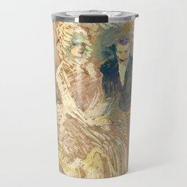 """Henri de Toulouse-Lautrec """"Au Bal masqué de l'Elysée Montmartre"""" Travel Mug"""