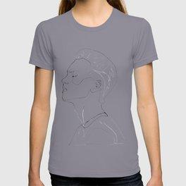 side portrait  T-shirt