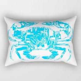 Cyber Crab Rectangular Pillow