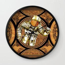 Reaching The Stars, Nasa Astronaut on Space Wall Clock