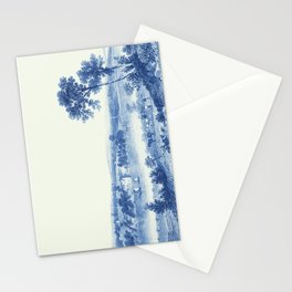 Lake Champlain 1850 (Cyanotype) Stationery Cards