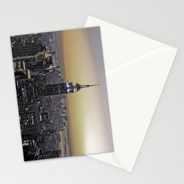 NYC City Scape - New York Photography Stationery Cards