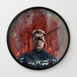 Cap (half-length) Wall Clock