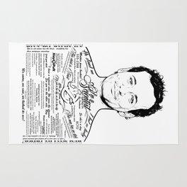 Bill Murray Tattooe'd Ghostbuster Dr. Venkman Rug