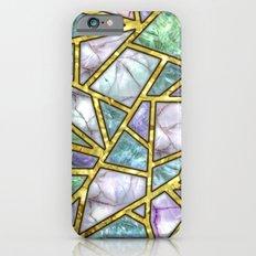 Sea Shells Mosaic Shards Slim Case iPhone 6s