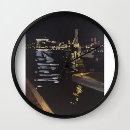 Baltimore Sky Wall Clock