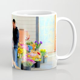 The Morning Constitutional Times Two By Four Coffee Mug