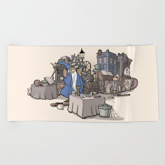 Collection of Curiosities Beach Towel