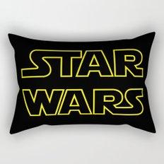 Star Logo Wars Rectangular Pillow