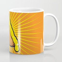 Swiss Cheese Raclette Coffee Mug