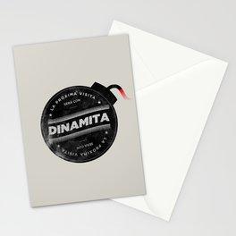 La próxima visita será con dinamita Stationery Cards