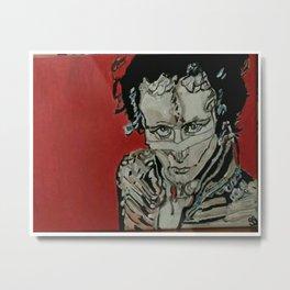 "Adam Ant GG - 11"" x 14"" Canvas Painting Metal Print"
