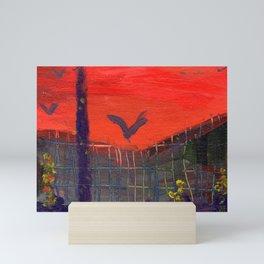 As the Crow Flys Mini Art Print