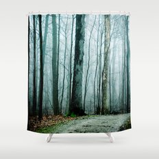 Feel the Moment Slip Away Shower Curtain