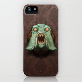 Swamp Alien iPhone Case