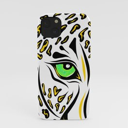 Leopard Eyes Print iPhone Case