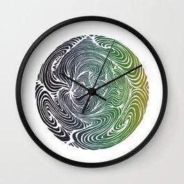 Swirls 2 Wall Clock