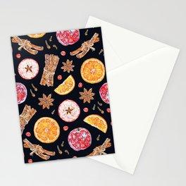 Spiced Apple Cider - Dark Stationery Cards