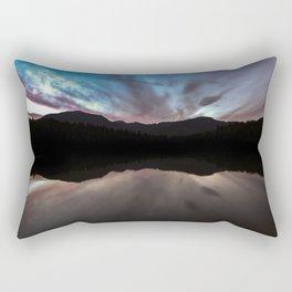 Lost Lake Sun Set Rectangular Pillow