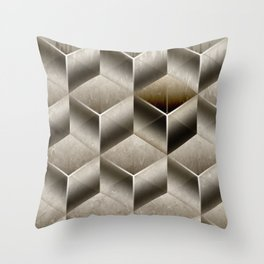 Cubist Throw Pillow