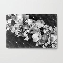 Dozen Roses III Metal Print