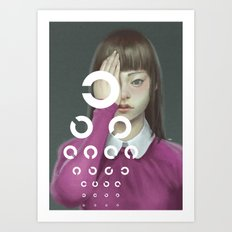 Eye Test Art Print