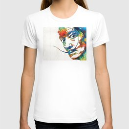 Colorful Dali Art by Sharon Cummings T-shirt