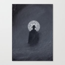 Occult Detective Canvas Print