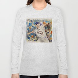 Justin Verlander - Astros Pitcher Long Sleeve T-shirt