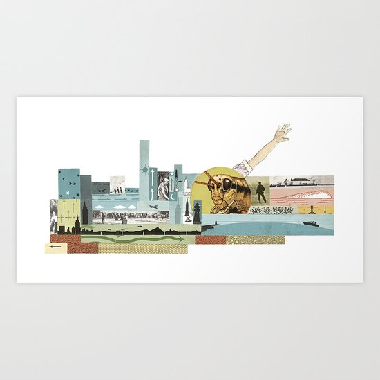 Arm Hopper Art Print