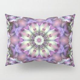 Lilac Mandala Pillow Sham
