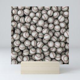 Baseballs Mini Art Print