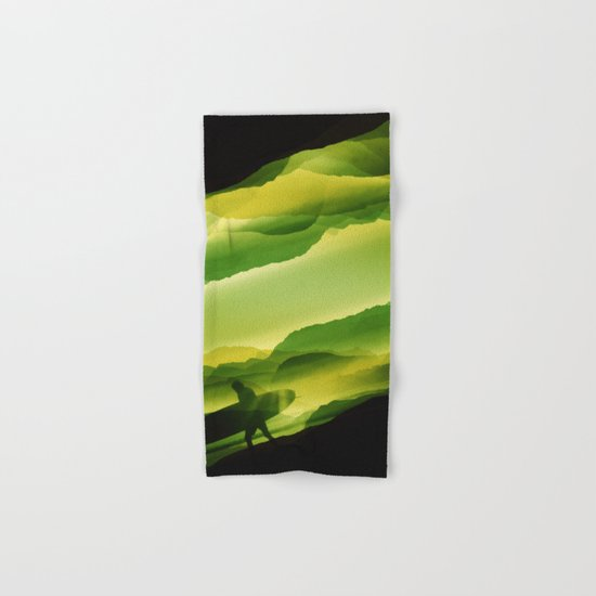 Plastic Surfing Hand & Bath Towel