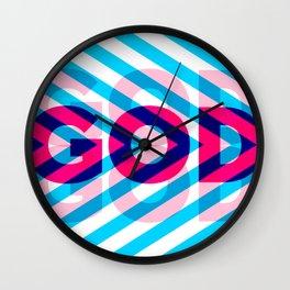 God #3 Wall Clock