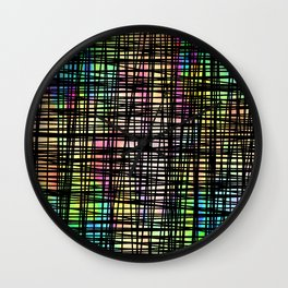 Colorful striped DP035-4 Wall Clock