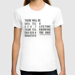 Run a Marathon T-shirt