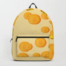 Orange and Banana Simple Design Backpack