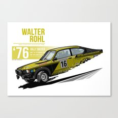 Walter Rohl - 1976 Sweden Canvas Print