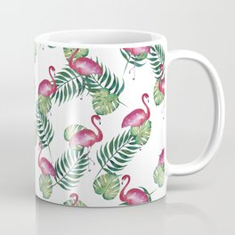 Flamingos in the Wild Coffee Mug