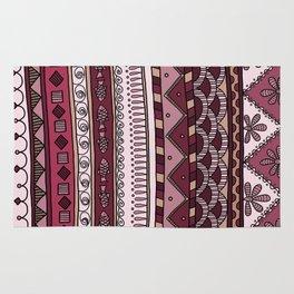 Yzor pattern 004 lilac Rug