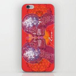 Cosmic Love - Red iPhone Skin