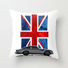 My name is 5, DB5 Throw Pillow