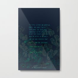 """""""Conquest of the Useless"""" by Werner Herzog Print (v. 4) Metal Print"""